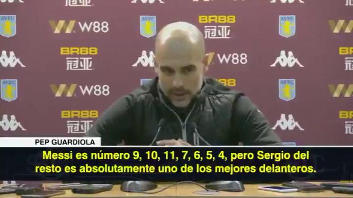 Tremendo 'zasca' de Guardiola a un periodista por Messi