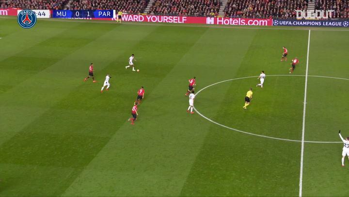 Kylian Mbappé's Champions League Goal Vs Man United - Dugout