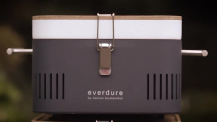 Preview image of Everdure by Heston Blumenthal Cube Charcoal Portab video