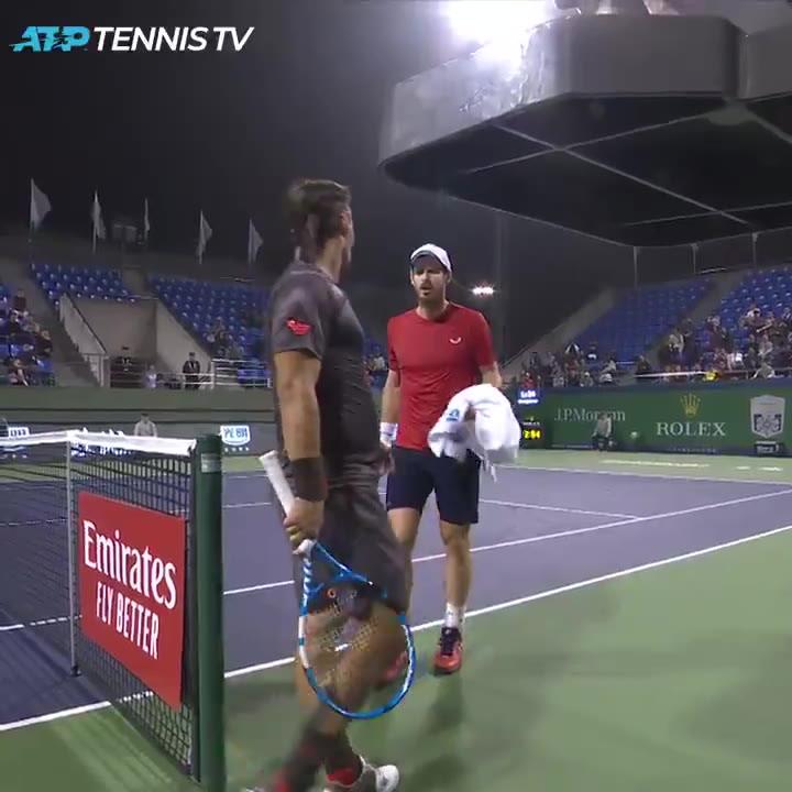 Murray se encara con Fognini en el Masters 1000 ATP de Shanghai