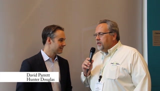 Greenbuild interview - Hunter Douglas