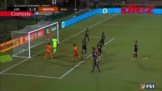EN VIVO: El VAR da por válido el gol de Alberth Elis y Houston está derrotando a Los Ángeles