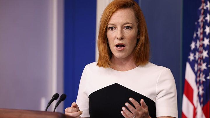 Watch live as White House press secretary Jen Psaki holds briefing