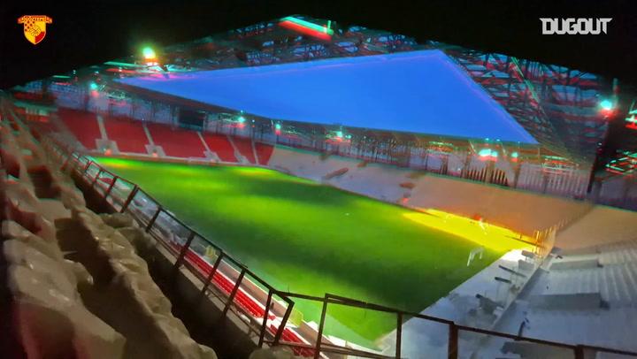 Göztepe'in İhtişamlı Gürsel Aksel Stadyumu