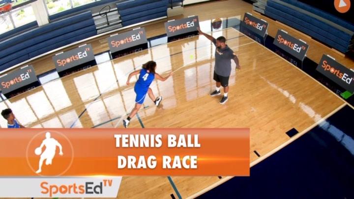 Tennis Ball Drag Race