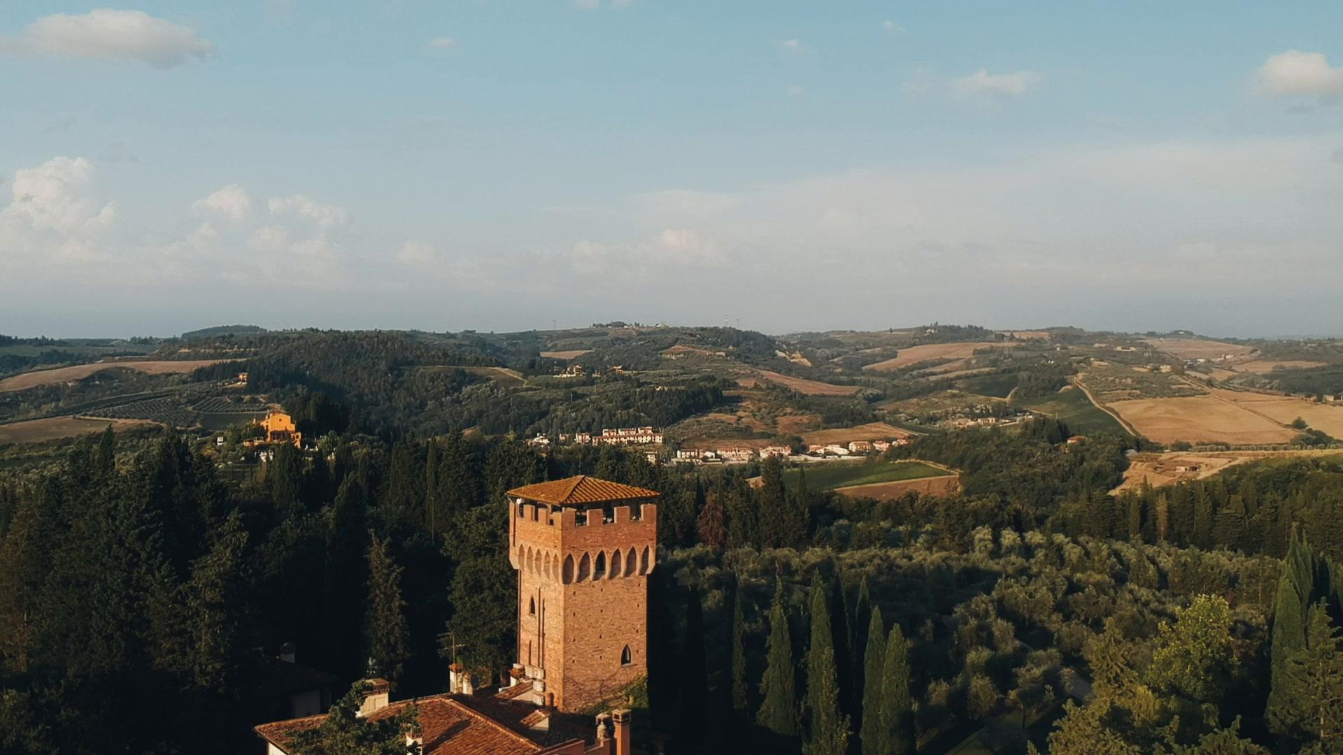 John + Marianna | Montespertoli, Italy | Antica Fattoria di Paterno