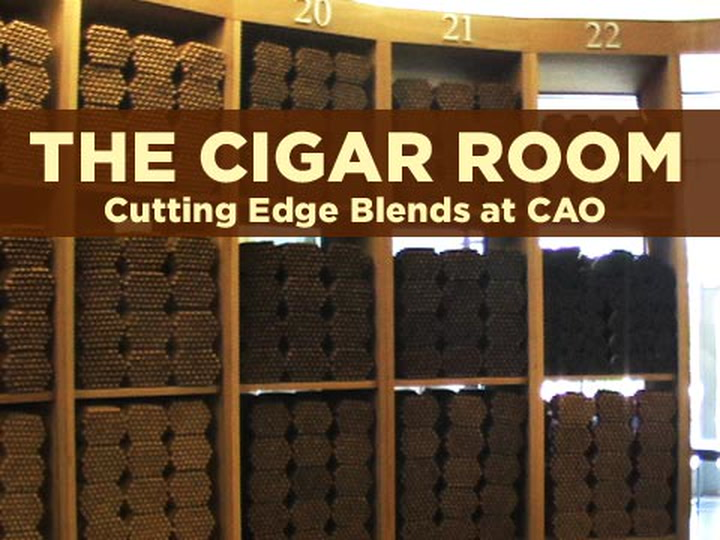 CAO's Aging Room