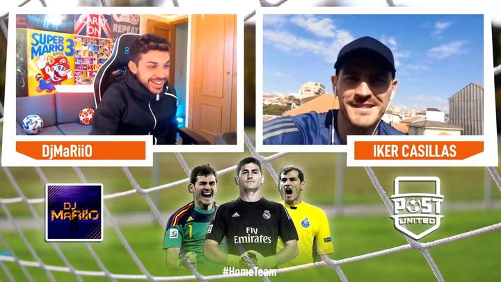 """Casillas: """"Me gustaría volver algún día al Real Madrid"""""""