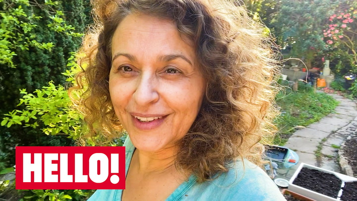 A Day In The Life Of Nadia Sawalha During Lockdown