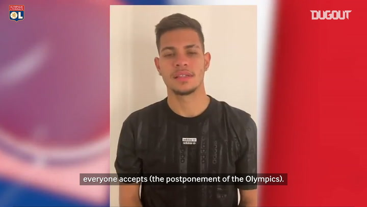 Bruno Guimarães comments on the cancellation of the Olympics
