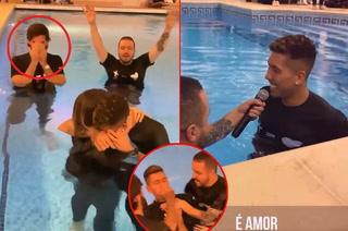 Firmino es bautizado por su propio compañero del Liverpool y lloran al final