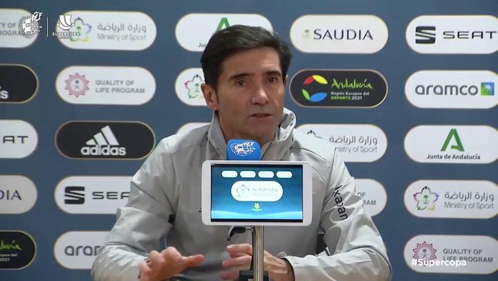 """Marcelino: """"Ganar el título sería la leche para el Athletic"""
