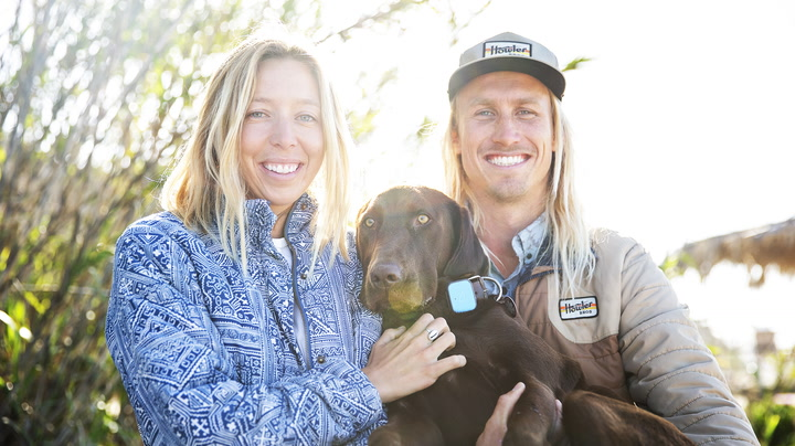 This might be one of the cutest families in surfing.