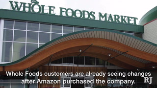 Here's what's changing at Whole Foods after Amazon purchase