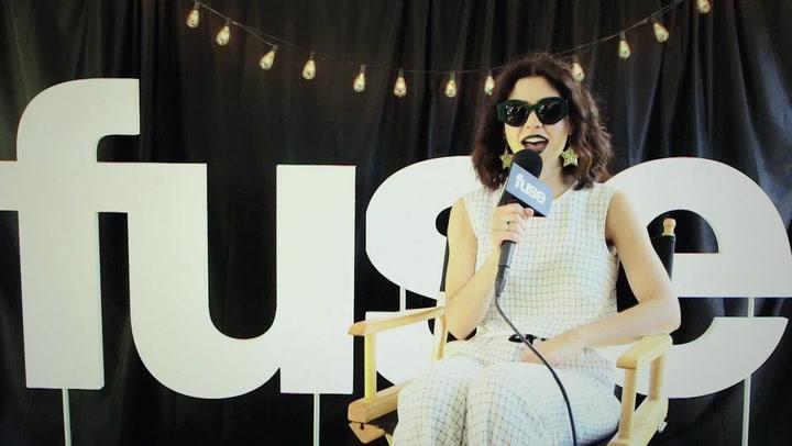 "Lollapalooza 2015: Marina and the Diamonds Explains ""Blue"" Video"