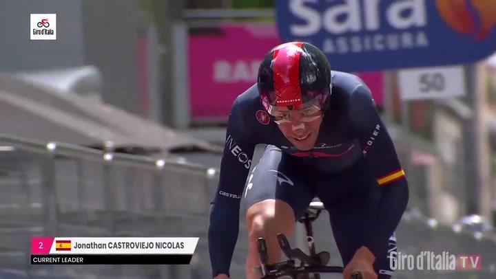 Resumen de la etapa 1 del Giro d'Italia