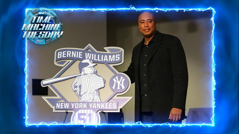 Bernie Williams retires from the Yankees in 2015 | Time Machine Tuesday