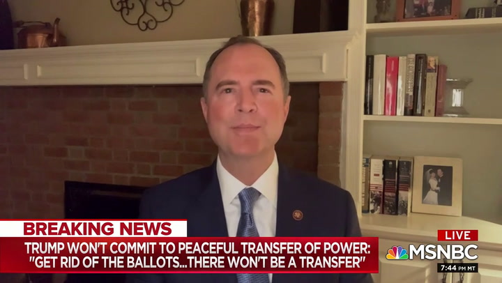 Schiff: 'Republicans of Good Conscience' in Trump Admin Should Resign- His 'Autocratic Intentions' Are Clear