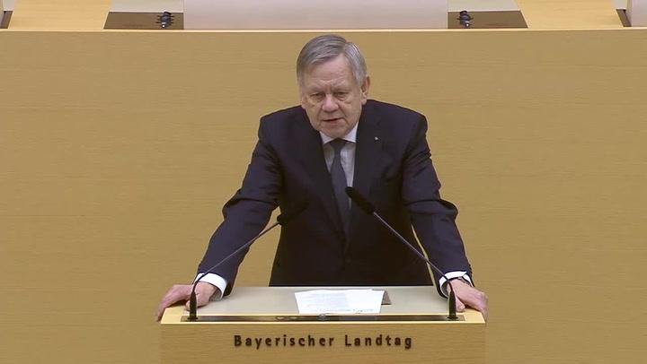 Holocaust-Gedenkakt im Landtag am 23.01.2018 - Rede Erster Landtagsvizepräsident Karl Freller