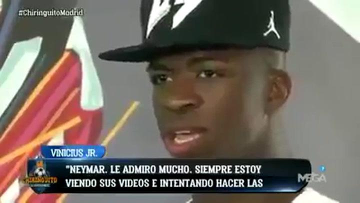 Las declaraciones de Vinicius que le dejan en evidencia con respecto al Barça