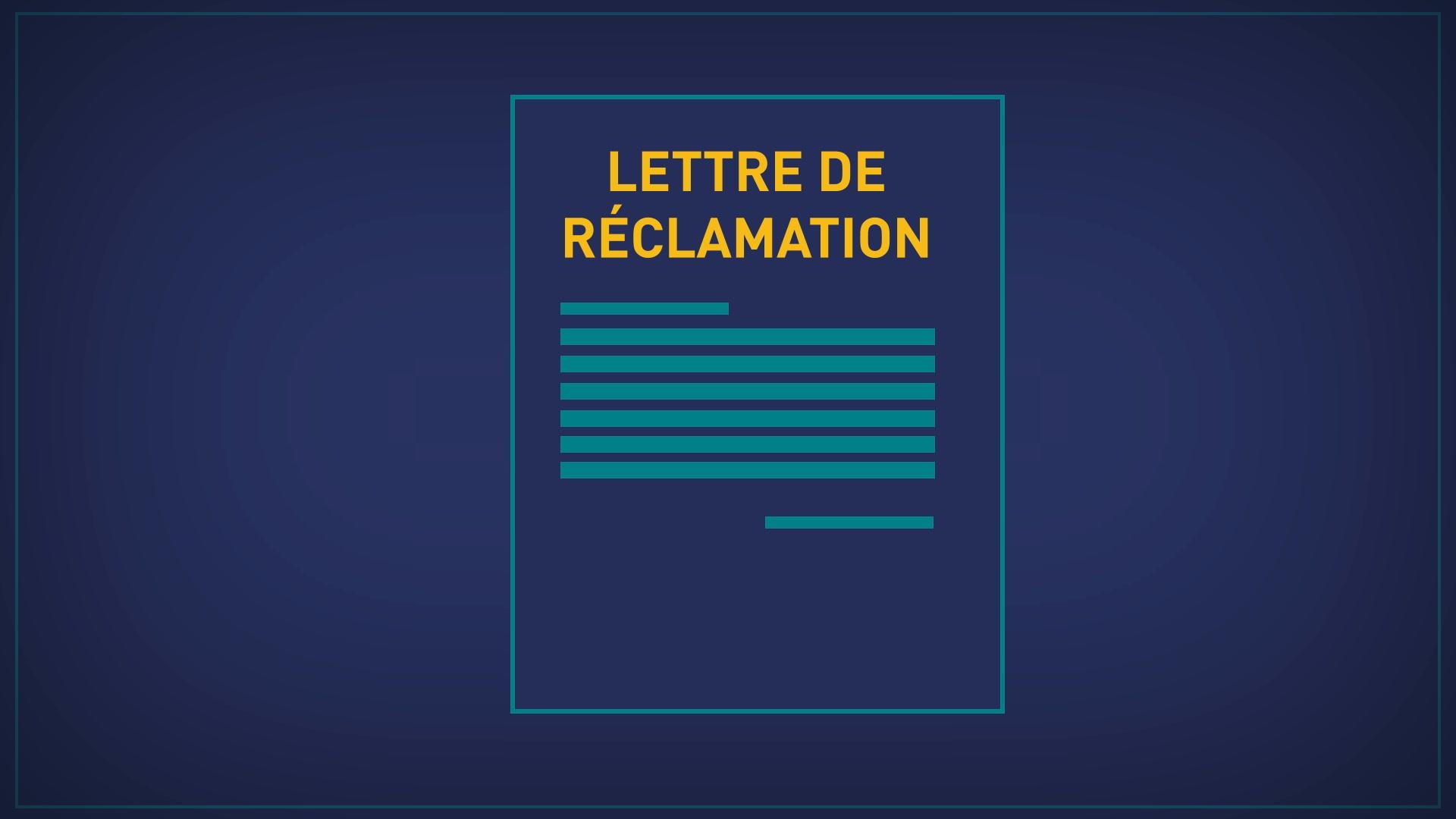 Lettre De Reclamation Pour Malfacons