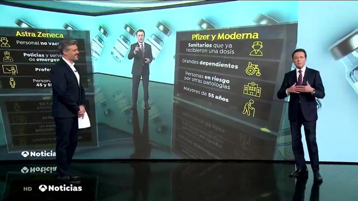 Brillante reacción de Matías Prats tras un polémico gráfico en Antena 3 Noticias