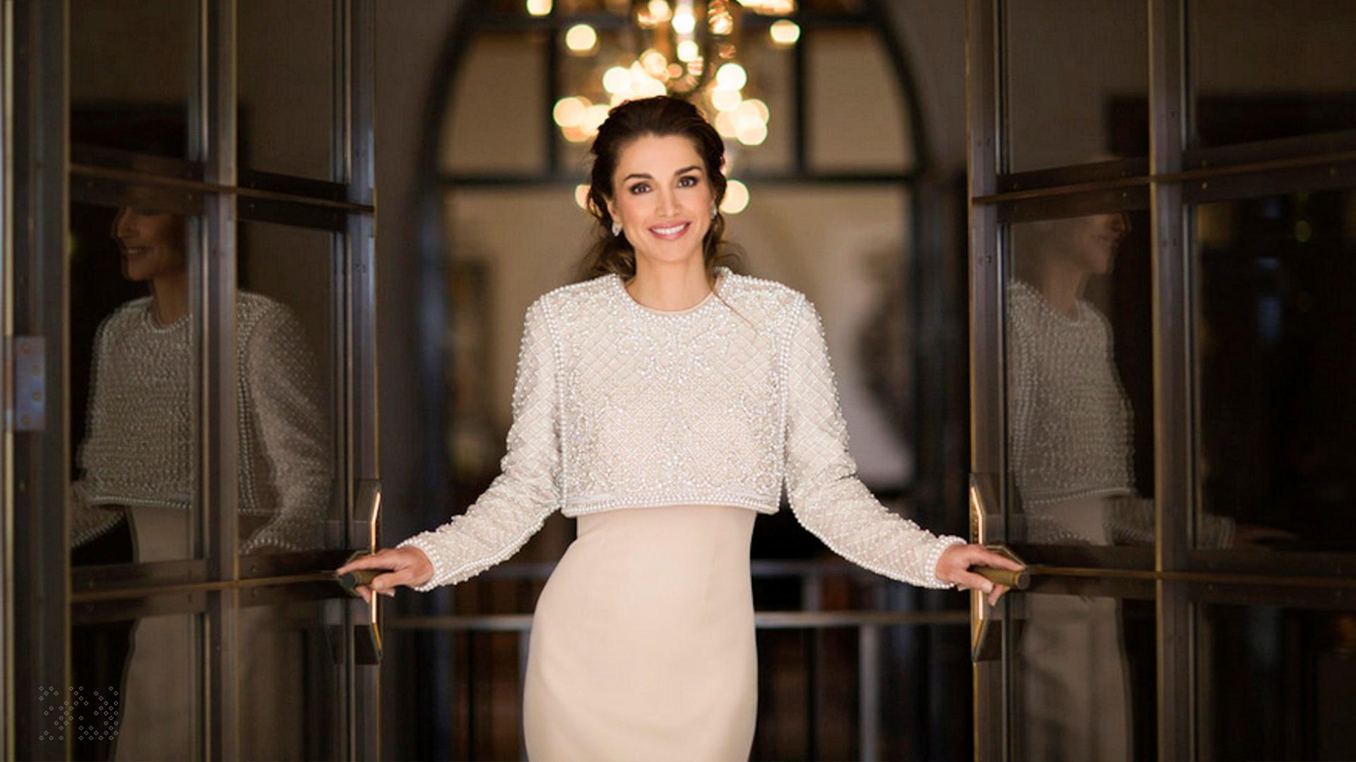 La vida de Rania de Jordania