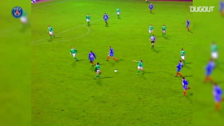 Paris Saint-Germain's win 3-1 vs Saint-Etienne in 1994
