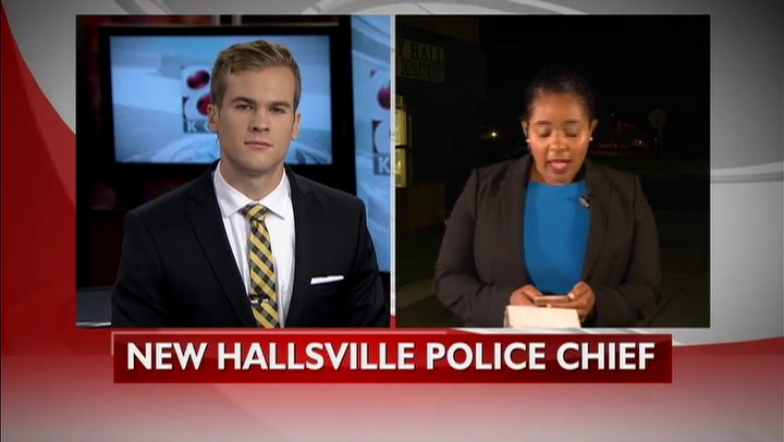 Hallsville to swear in new police chief