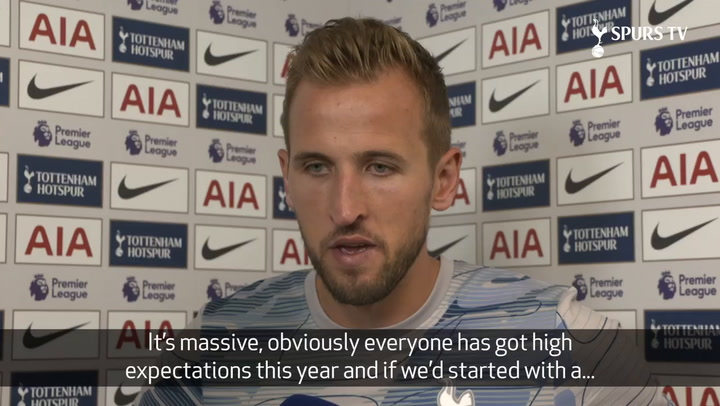 Harry Kane Discusses Two Goals In Aston Villa Win