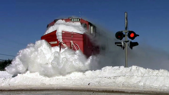 Litt snø er da ingen hindring