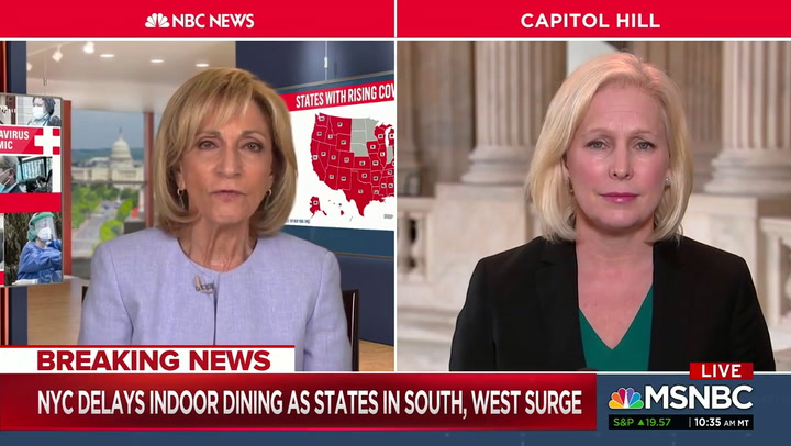 Gillibrand: 'It's Not Fair' People Have to Look at Confederate Soldiers Statues