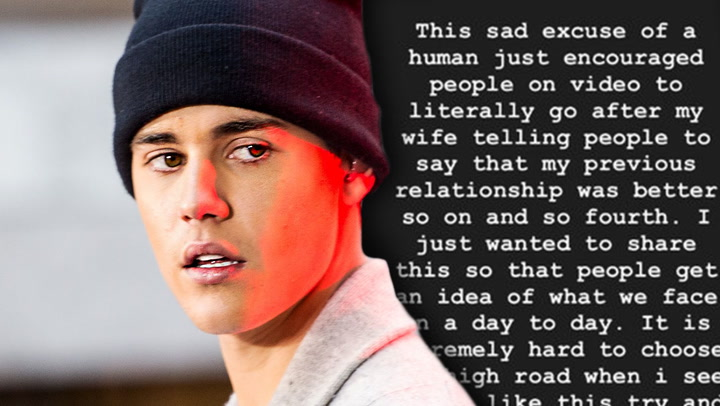Justin Bieber Slams Fan Disrespecting His Wife Hailey