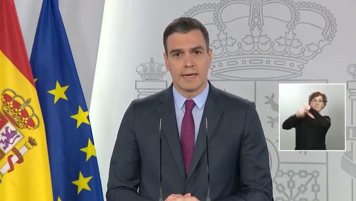 """Pedro Sánchez anuncia las fases de desescalada: """"Durará como mínimo 6 semanas"""""""