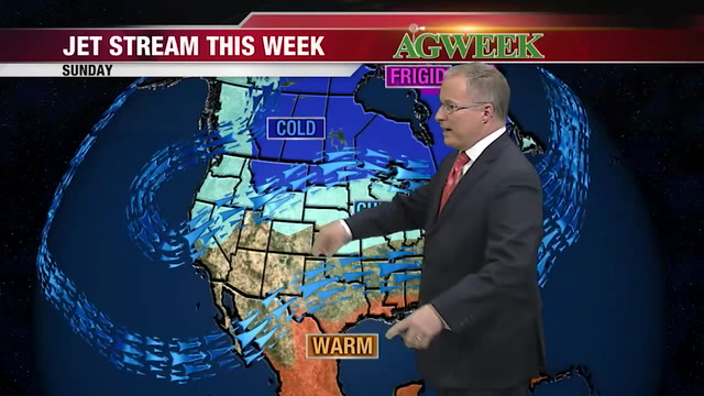 Join WDAY's John Wheeler for the latest agri-weather outlook for March 14-15, 2020.