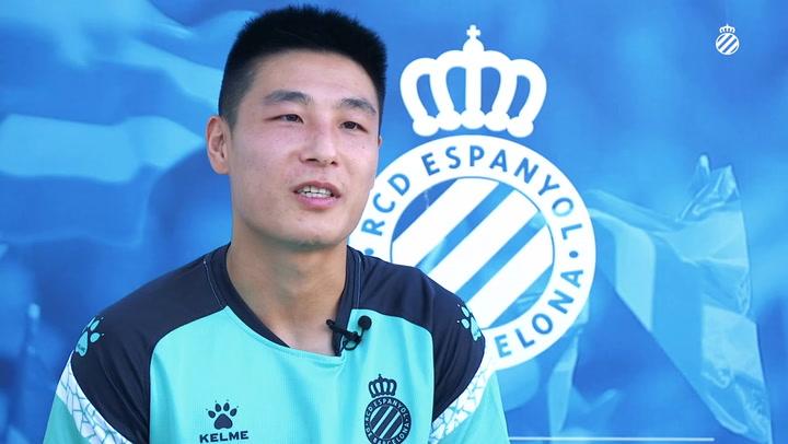 Wu Lei afirma que el objetivo es subir a Primera División
