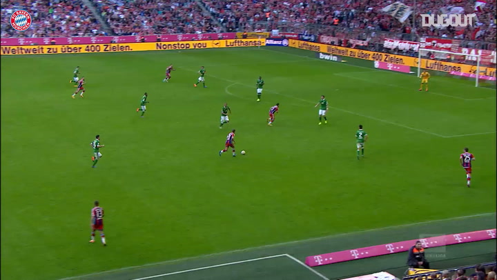 Team Goals: Philipp Lahm Vs Bremen