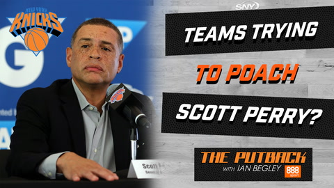 Will Knicks GM Scott Perry get poached by another franchise?