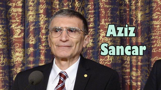 Aziz Sancar'a Nobel Ödülü