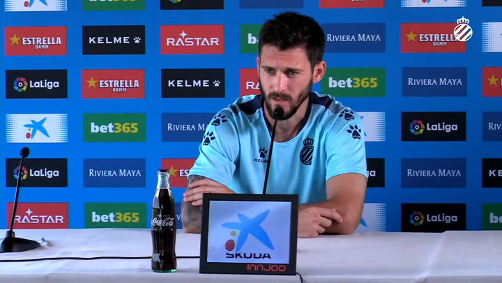 Rueda de prensa de Facundo Ferreyra (Espanyol)
