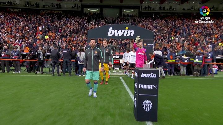LaLiga (J21): Resumen y goles del Valencia 2-0 Barcelona