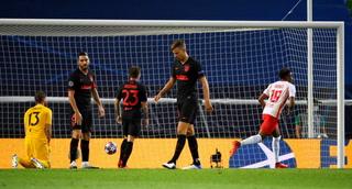 Leipzig Encuentra El Segundo Gol Y Está Eliminando Al Atlético De Madrid De La Champions