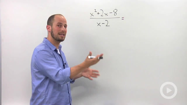Dividing Polynomials using Synthetic Division