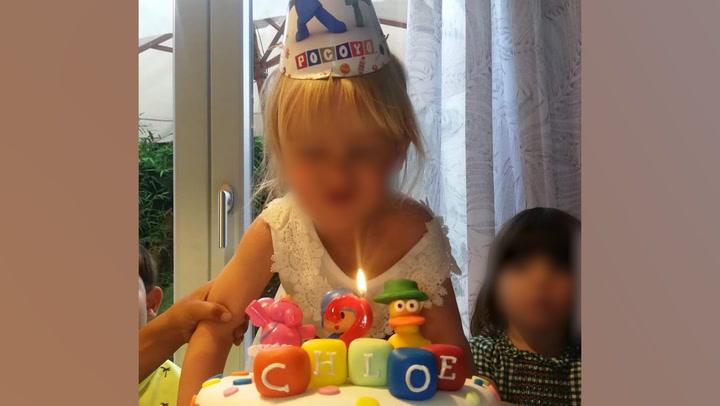 La simpática reflexión de Chloe, la hija de Manuel Carrasco, al cumplir cuatro años