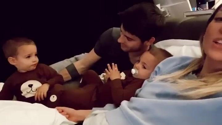 Morata y Alice Campello desvelan el nombre de su tercer hijo