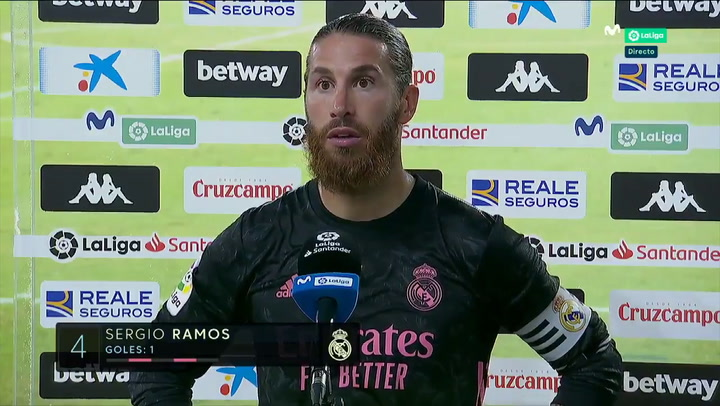 """Ramos, sobre el VAR: """"A veces nos perjudica, otras nos beneficia, pero sin intención"""""""