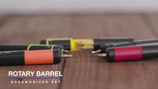 Rotary Barrel Screwdriver Set