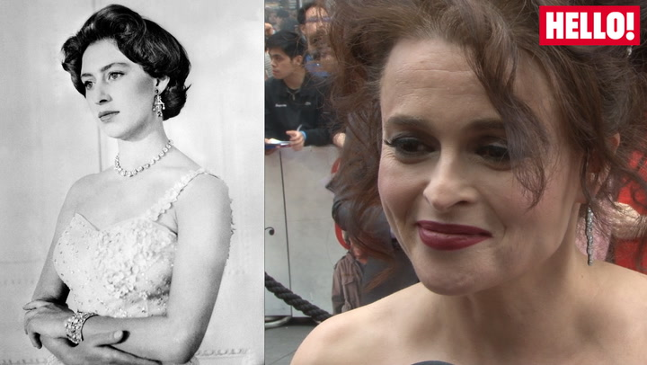 Helena Bonham Carter talks playing Princess Margaret