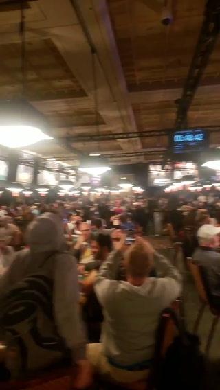 WSOP quake in Las Vegas (Ivan Zarate, @zarateivan33)