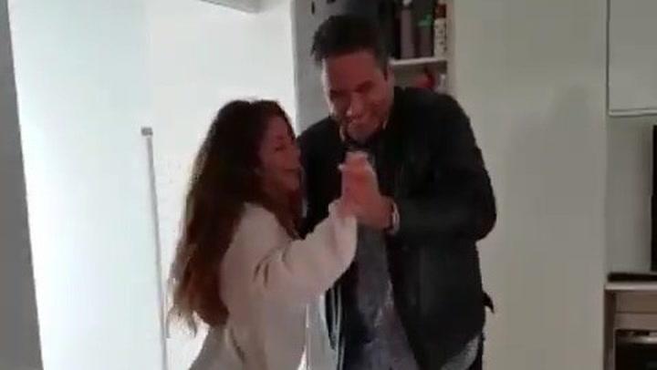 """La original felicitación de Shakira para su hermano: """"¡El más bacán de los bacanes!"""""""